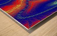 Lotus Of Movement  Wood print