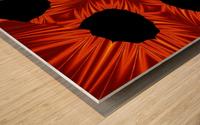 Fire Flowers 105 Wood print