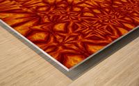 Fire Flowers 210 Wood print