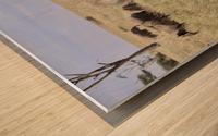 Follow the Leader Wood print