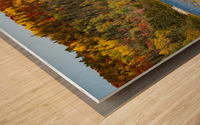 Lax Lake Mn Wood print