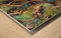 Composicion120 Wood print