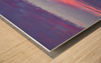 Light Banding Wood print