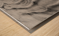 Sandy Waves Wood print