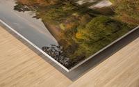 Craig-y-Nos Country park Wood print
