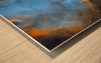 North American and Pelican Nebula Wood print