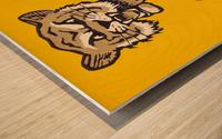 1950s Missouri Tigers Art Print Wood print