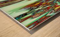 Factions Wood print