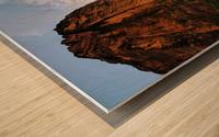 Zion Catching Rays Wood print