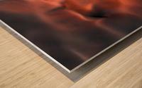 Sand hill Wood print