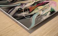ME NAGE Wood print