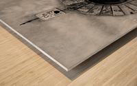 MONTEPULCIANO Wood print
