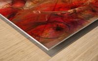 Vertiz Wood print