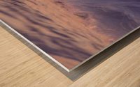Lake Erie waves 4 Wood print