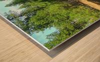 Deeper In Wood print
