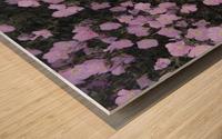 Flower Garden Wood print