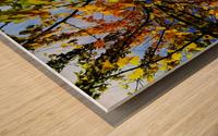 flower43 Wood print