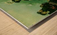 Luther verbrennt die Papstbulle Wood print
