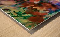 Sprigtime Wood print