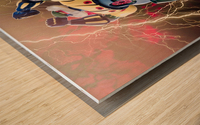 Kotetsu Jeeg - Steel Jeeg Wood print
