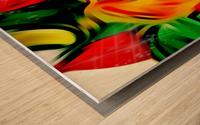 Colour Warriors  Wood print
