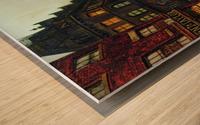 Boar Lane, Leeds Wood print