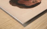 Al Pacino Wood print