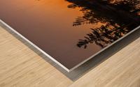 Peek Through Wood print