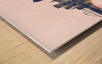 Novi Sad Skyline Wood print
