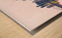 Wuhan Skyline Wood print