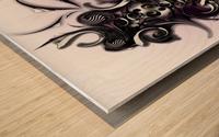 My Architectonic Illumination Wood print
