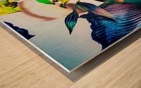LA FEMME OISEAU  Wood print