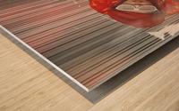Funky Petroleum I Wood print