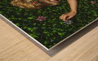 Tembleque IV Wood print