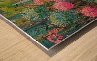 Simple Abundance Wood print