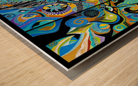Paon dOr Wood print