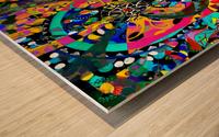Tissage originel Wood print