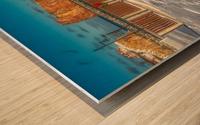 Le Rocher des fetes 2 Impression sur bois