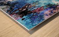 Icecapades Wood print