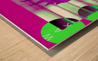 Wake Up 2021 Wood print