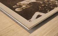 1985 Michael Jordan Polaroid Style Art Wood print