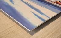 Vancouver Skyline Panorama Wood print