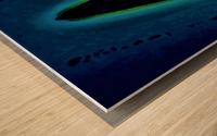 BLUE SAPPHIRE  590  Wood print