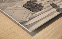 Kind of Symmetry Wood print
