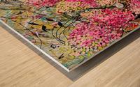 Strawberry Sundae Panel 1 Wood print