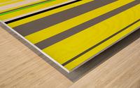 Color Bars 3 Wood print