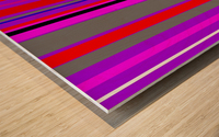 Color Bars 4 Wood print
