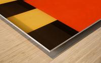 NOS Testscreen  03 by Huib Limberg  Wood print