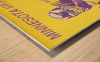 1988 Minnesota Vikings Football Poster Wood print