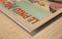 Le Pneu Michelin a vaincu le rail Wood print